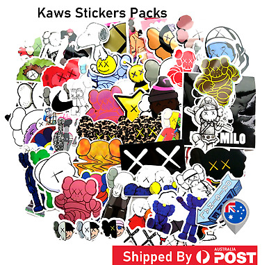 KAWS STICKER DECAL Pop Culture Laptop Phone Car Skateboard Vinyl