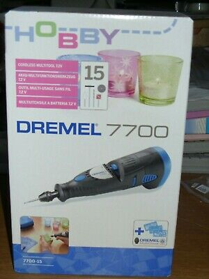 Dremel 7700 Cordless Drill Multitool And Cleaning/Polishing Set