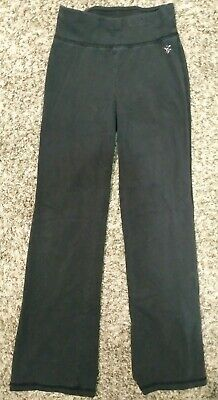 Justice Girls Size 8 Black Legging Pants