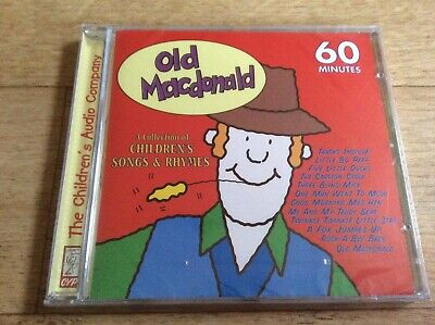 Old Macdonald - A Collection Of Children's Songs & Rhymes New Sealed Cd Album