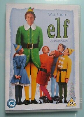 Elf (DVD, 2005) PAL 2 Will Ferrell, James Caan (free postage)