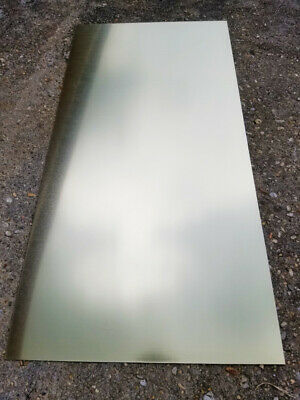 "12""X24"" Gold .025"" Color Anodized Aluminum Sheet, Metal, 22 Gauge CNC Plate"