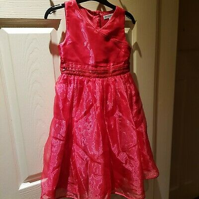 M&S Autograph Girls Party Dress Age 6-7 Years