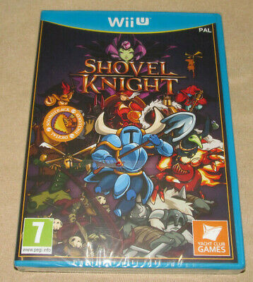 Shovel Knight - Nintendo Wii U Game - Rare Official UK Release - NEW & SEALED