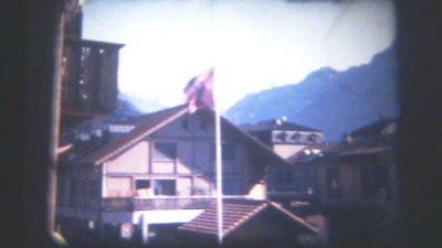 200Ft Super 8 Cine Film. Interlaken Switzerland 1992 (GV13)