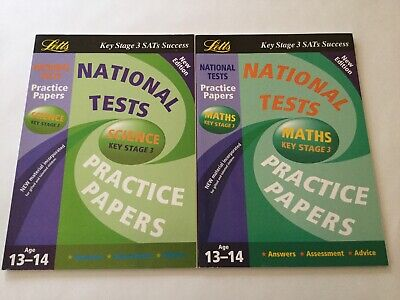 Letts National Tests Practice Papers: Maths & Science Bundle - Key Stage 3