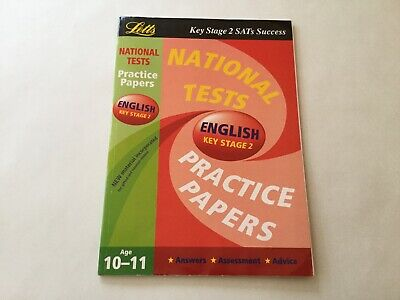 National Test Practice Papers 2003: English Key stage 2 - By Letts Education