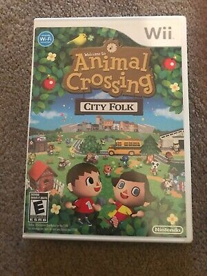 Animal Crossing: City Folk Nintendo Wii Game Tested