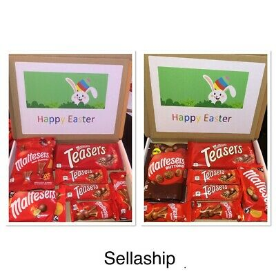 Maltesers Mix Chocolate Sweet Hamper Selection Gift box Present Easter gift