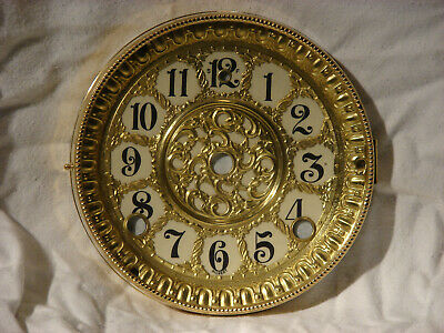 Antique Gilbert Clock Dial and Bezel