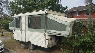 Jayco Swan 1981 Camper trailer caravan similar to Eagle, Flamingo, Hawk