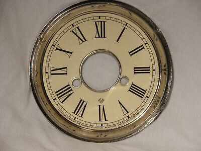 Antique Ansonia Shelf Clock Dial