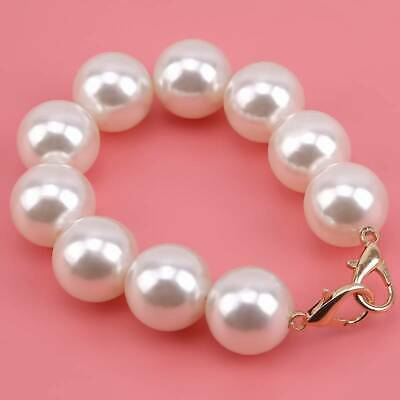 Women's Bag Accessories Acrylic Pearl Hand Strap Replacement SL
