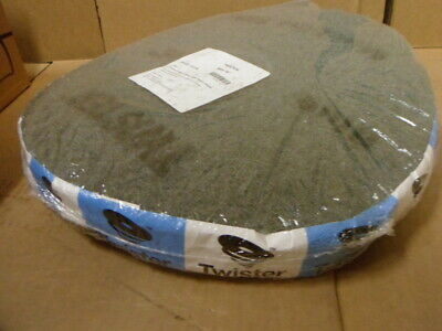 "16"" Twister Blue Daily Cleaning Floor Pads for Floor Scrubber Diamond pad qty 2"
