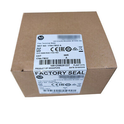 Allen-Bradley 1794TB32 32 point Flex I/O Flex Terminal Block Base 1794-TB32 Open