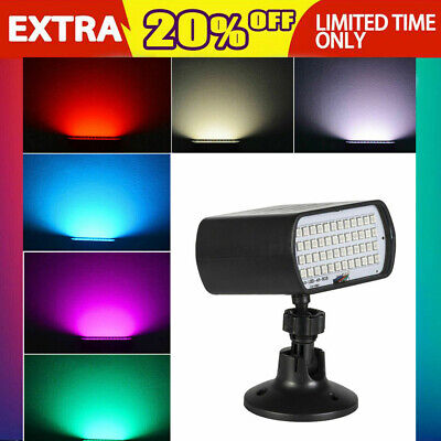 48LED RGB Party KTV DJ Disco Projector Stage Light 5050SMD Mini Strobe Flash