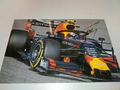 PIERRE GASLY SIGNED 2019 ASTON MARTIN RBR RE D BULL RACING F1 20x30 2019