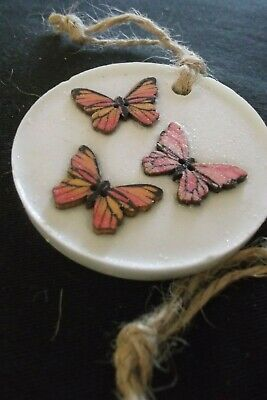 Aromatherapy GIFT BUTTERFLY Decoration Pure Oil Fragranced Handmade SOY WAX tabs