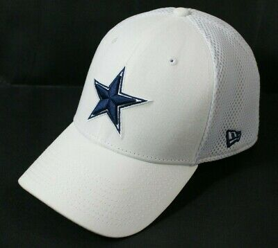 Dallas Cowboys Fitted Hat White With NFL Star Logo New Era 39 Medium-Large