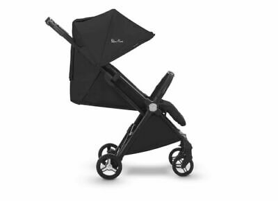 Silver Cross Jet Travel Stroller, Lightweight and Cabin Approved Ebony