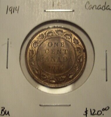 Canada George V 1914 Large Cent - BU
