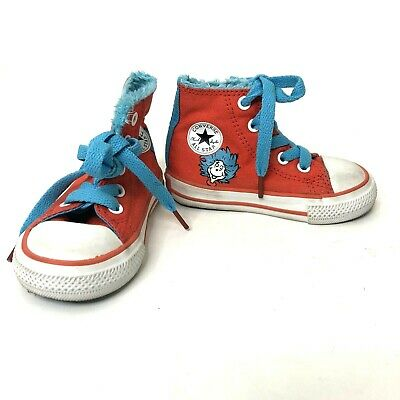 CONVERSE ALL STAR Dr. Seuss One Fish Two Fish Shoes, Toddler