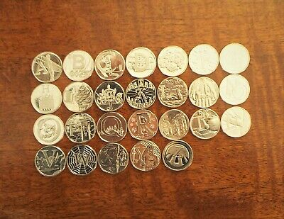 2019 Full Set of 10p A-Z Alphabet Uncirculated Coins - Very Rare