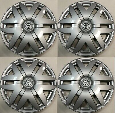 "4 x 16"" Hub Cap Silver Fits 2004 2005 2006 2007 TOYOTA SIENNA Wheel COVER"