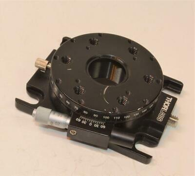 Thorlabs PRO-1 High-Precision 360* Rotation Stage with Mitutoyo Micrometer Head