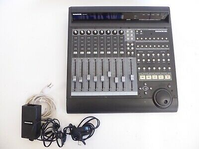 Mackie Master Control Daw Midi Control Surface With Usb Midi Interface Cable