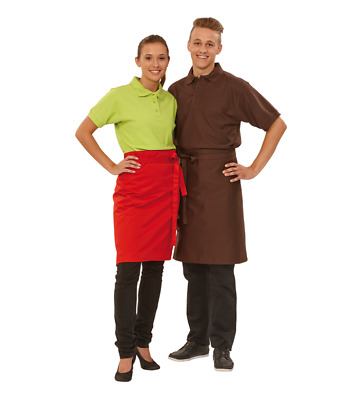 Apron Forelock Bistro Apron Apron 60 x 80 cm Many Colors New