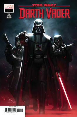 Marvel Comics Star Wars Darth Vader #1 2020 In-Hyuk Lee Cover Bagged & Boarded