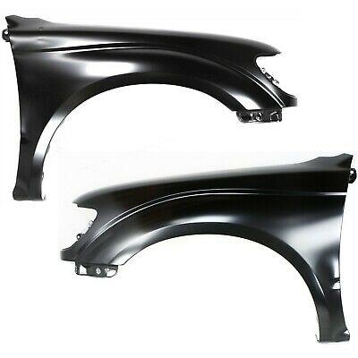 Fender For 2005-2015 Toyota Tacoma Front Left Primed Steel Molding Holes CAPA