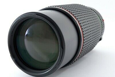 Canon New FD NFD 80-200mm f/4 L MF zoom Lens EXC condition from japan  542285