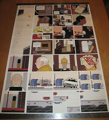 Chris Ware Jimmy Corrigan Japanese Edition Poster Print Presspop Limited to 150