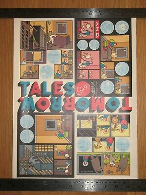 Chris Ware Tales of Tomorrow Poster Presspop Japan limited to 450