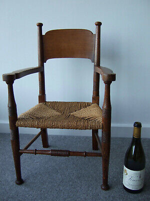William Birch Child's Armchair - Very Rare Arts and Crafts period small chair