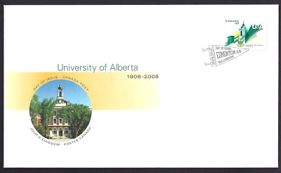 Canada   # 2263   University of Alberta        Brand New 2008  Unaddressed Cover