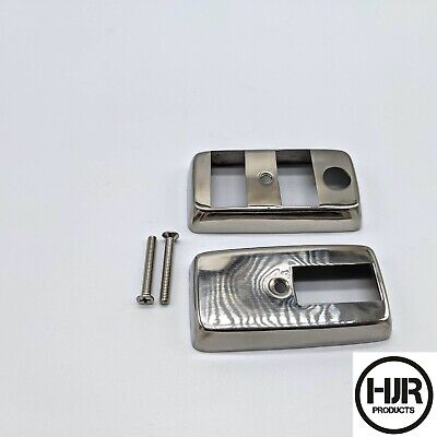 Vespa PX 125 200 Stainless Light Indicator Switch Housing Cover LML Star 125 150