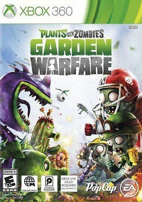 Plants VS Zombies Garden Warfare (Online Play Required)  XBOX 360