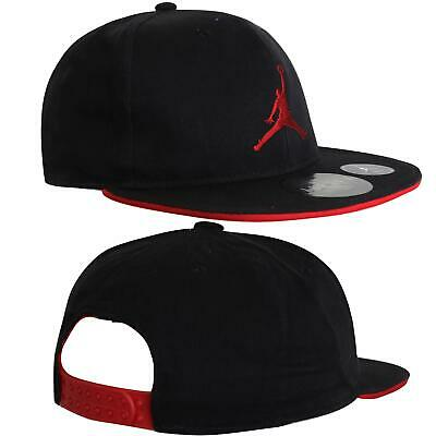 Jordan Jumpman Youth Snapback Flat Peak Hat Black 9A1417 297 A183B