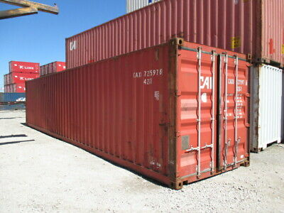 Used Shipping / Storage Containers 40ft Charleston, SC $1800