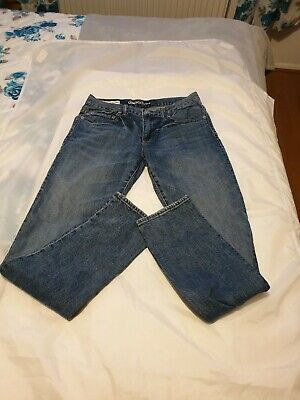 Boys Gap Kids 1969 Authentic Skinny Jeans Straight Leg Wash Blue Regular Age 14
