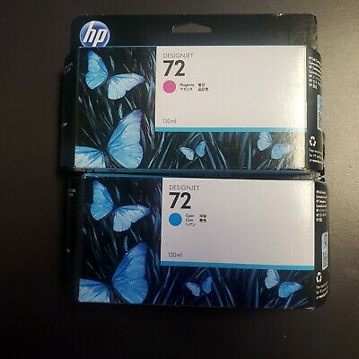 HP Designjet 72 Magenta/Cyan Printhead Exp. 9/2018 and 8/2019