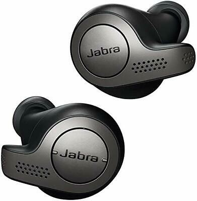 Jabra Elite 65t Wireless Earbuds with Charging Case – Titanium Black
