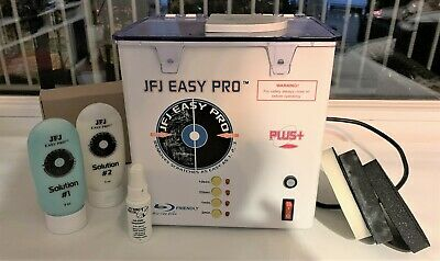 JFJ Easy Pro Disc Repair Cleaning Machine with Accessories Boxed
