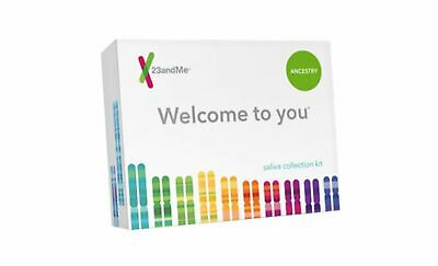 23 and Me Ancestry DNA Saliva Test kit. RETURN SHIPPING INCLUDED