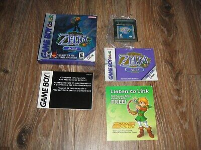 Legend of Zelda: Oracle of Ages (Game Boy Color, GBC) Complete - Tested