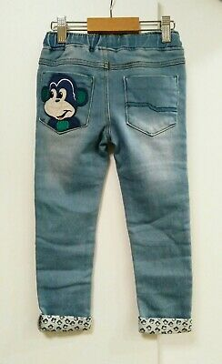 BNWT Next Boys Monkey Jeans Age 3-4 years