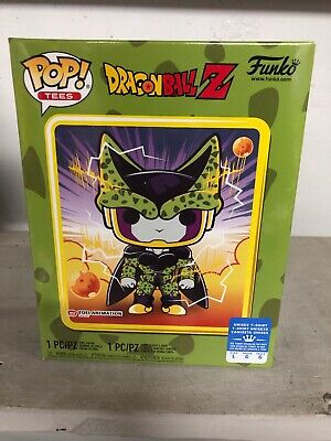 Funko Pop! Dragon Ball Z Perfect Cell Box~ Sealed~ Gamestop Exclusve~ L Tee~